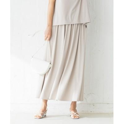 【クミキョク/組曲】 【吸水速乾・UVカット】ドライハイゲージ天竺 スカート