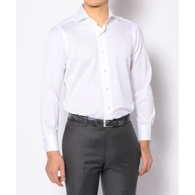 TOMORROWLAND / トゥモローランド 120/2コットンピケ ワイドカラー ドレスシャツ NEW WIDE-5