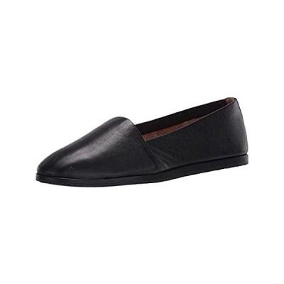 Aerosoles Women's Holland Loafer Flat, Black Leather, Medium