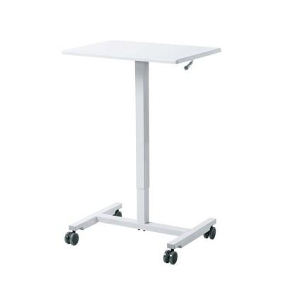 サンワサプライ パーソナルガス昇降デスク ERD-GAP1W オフィス テーブル 高さ調節 事務所 シンプル 作業台 プレゼン台 会社 机 4969887636060