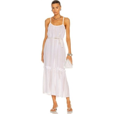レムレム Lemlem レディース ワンピース サンドレス ワンピース・ドレス Kelali Sun Dress White