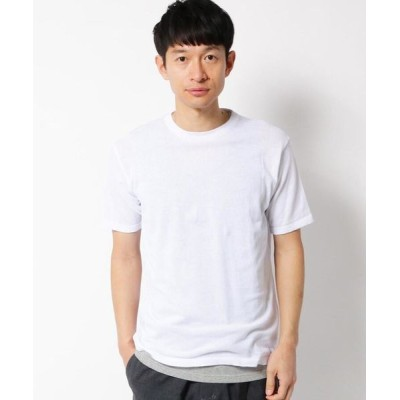THE SHOP TK/ザ ショップ ティーケー 【タンクトップセット】綿ニットTシャツ オフホワイト(003) 03(L)