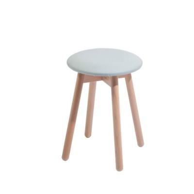 木製スツールチェアイタリア製LaSediaスツール piccolo-n-blueg