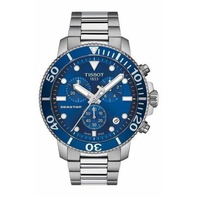 ティソ 腕時計 Tissot メンズ SEASTAR シースター1000 Blue Dial Swiss クォーツ Watch T120.417.11.041.00