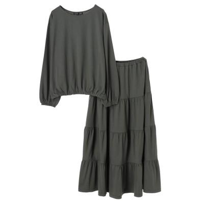 ・SUGARSPOON SET2点プルオーバー×スカート