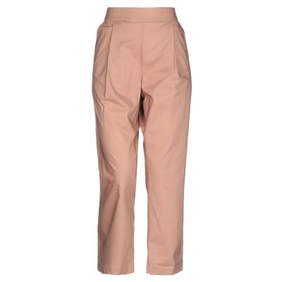 セミクチュール SEMICOUTURE パンツ ライトブラウン 40 コットン 100% パンツ