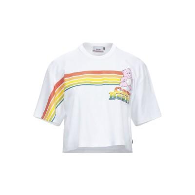 GCDS T シャツ ホワイト S コットン 100% T シャツ