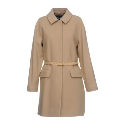 BOUTIQUE MOSCHINO コート ベージュ 44 バージンウール 75% / ナイロン 20% / 指定外繊維 5% コート