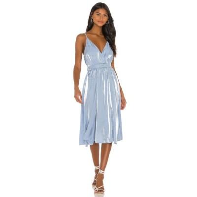 ソング オブ スタイル Song of Style レディース ワンピース ミドル丈 ワンピース・ドレス Cyrus Midi Dress Clearwater Blue