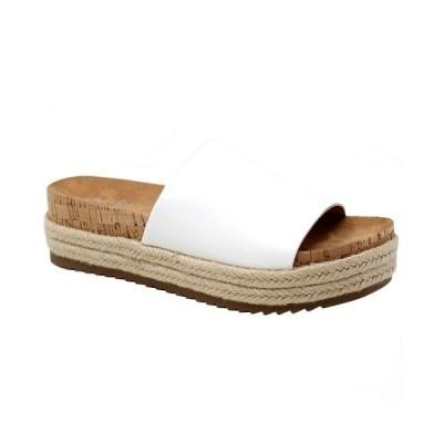 チャールズ・デイビッド サンダル シューズ レディース CHARLES By Charles  David Women's Bustle Sandals White