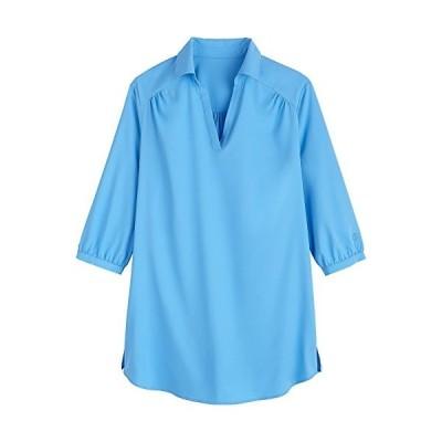 Coolibar UPF 50+ Women's Beach Tunic Top - Sun Protective (Large- Roya