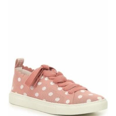 ケイトスペード レディース スニーカー シューズ Abbie Dot Knit Lace-Up Sneakers Flirty Rose/Optic White