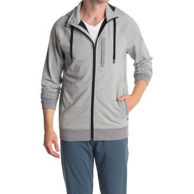 トミージョン メンズ ジャケット&ブルゾン アウター Go Anywhere Dry Fleece Hoodie Jacket HG/ MHG