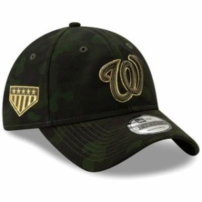 New Era ニュー エラ スポーツ用品  Washington Nationals New Era 2019 MLB Armed Forces Day 9TWENTY Adjustable Hat - Camo