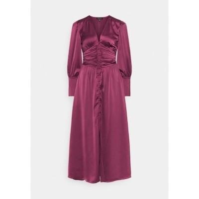 フー ワット ウェア ワンピース レディース トップス EMPIRE WAISTED DRESS - Maxi dress - deep berry