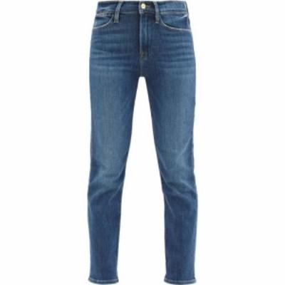 フレーム Frame レディース ジーンズ・デニム ボトムス・パンツ Le High high-rise straight-leg jeans Midblue