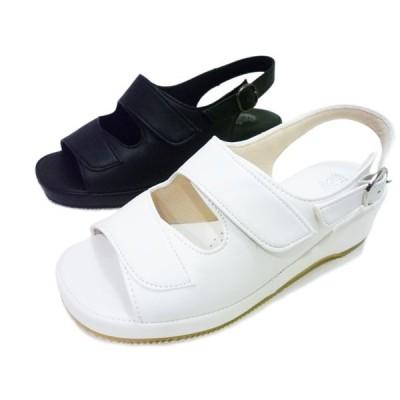 Pansy パンジー サンダル BB5303 ホワイト ブラック レディースサンダル 白 黒オフィスサンダル ナースサンダル ナースシューズ 婦人用 レディース 婦人靴