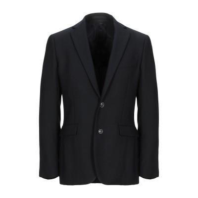 JOE ARNESS テーラードジャケット ブラック 50 バージンウール 100% テーラードジャケット