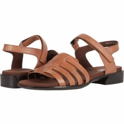 マンロー Munro レディース サンダル・ミュール シューズ・靴 Haven Tobacco Leather