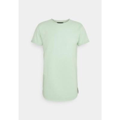 メンズ ファッション ALAIN - Basic T-shirt - quite wave