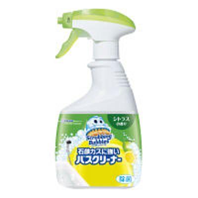 ジョンソン【セール】スクラビングバブル 石鹸カスに強い バスクリーナー シトラスの香り 本体 400ml 1個 ジョンソン