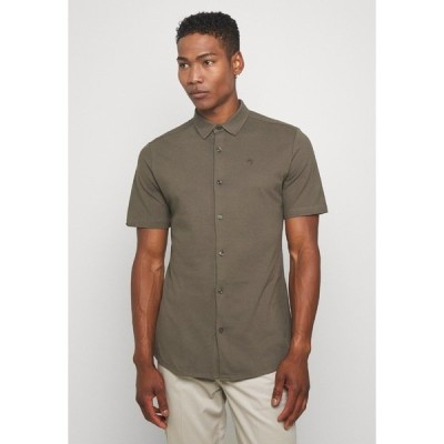 リバーアイランド シャツ メンズ トップス Shirt - khaki