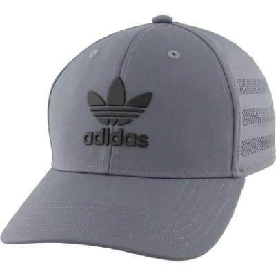 アディダス adidas メンズ キャップ スナップバック 帽子 Originals Beacon II Precurve Snapback Hat Onix/Black