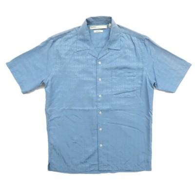 ペリーエリス シルク デザインシャツ サイズ表記:S