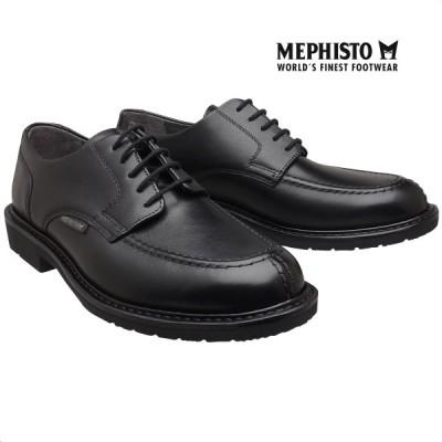 メフィスト 正規品 靴 MEPHISTO PHOEBUS BLAK グッドイヤーウェルト ウォーキングシューズ Uチップ メンズ 革靴 紳士靴
