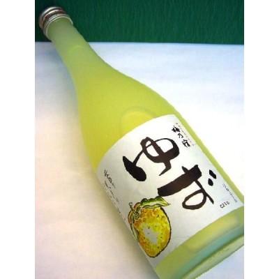 柚子の酒 梅乃宿【ゆず】720ml 誕生日、母の日、父の日等のギフトにも