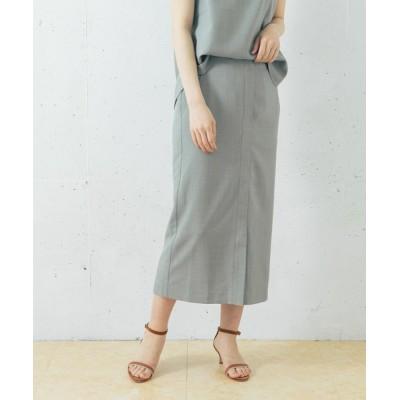 URBAN RESEARCH ROSSO WOMEN / 【WEB限定】リネンライクタイトスカート WOMEN スカート > スカート