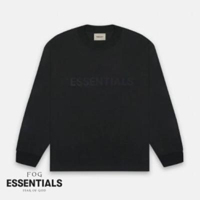 フィアオブゴッド エッセンシャルズ FOG Fear Of God SS20 Essentials Long Sleeve Tee Black ブラック Tシャツ ロンT 長袖 メンズ アメ