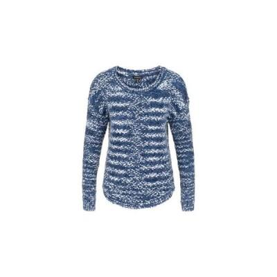 トリバル レディース ニット・セーター アウター Long Sleeve Boatneck Sweater