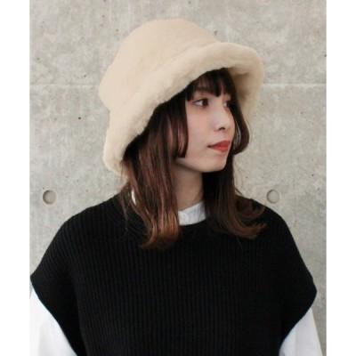 帽子 ハット 【milsa】Eco Fur Bucket Hat / 【ミルサ】エコファー バケットハット