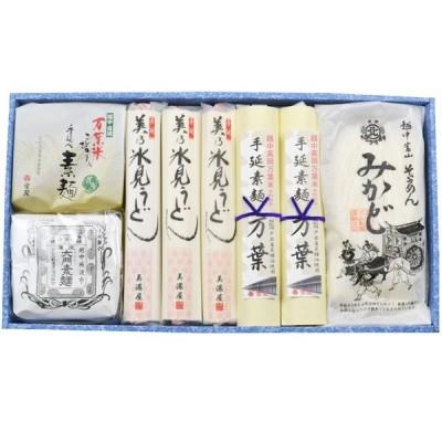 お中元 御中元 富山 室屋 越中の味 麺のしらべ SH-50A 化粧箱入 メーカー直送 大門素麺 通販