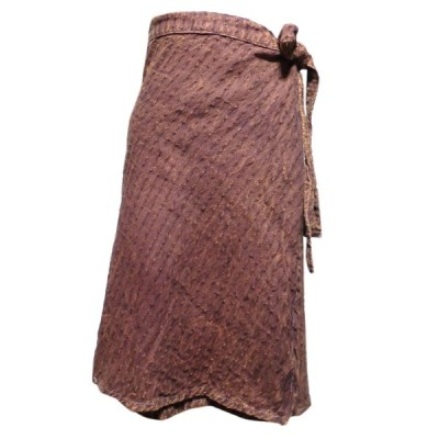 スカート アジアン衣料 ネパール・ラップスカート13 クリックポスト選択 送料200円