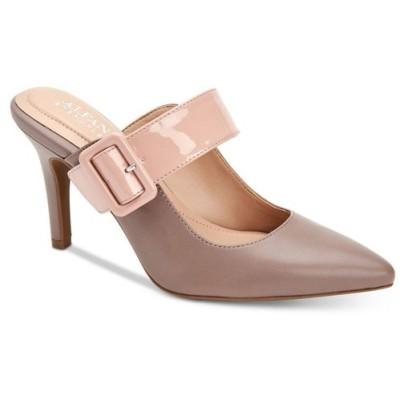 アルファニ Alfani レディース サンダル・ミュール シューズ・靴 Sewell Buckled Dress Mules Taupe/Blush Leather