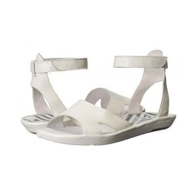 FLY LONDON フライロンドン レディース 女性用 シューズ 靴 サンダル MAFI857FLY - Off-White Mousse