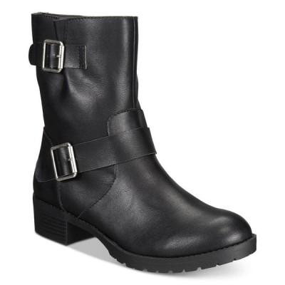 スタイル&コー Style & Co レディース ブーツ シューズ・靴 Gianara Moto Booties Black