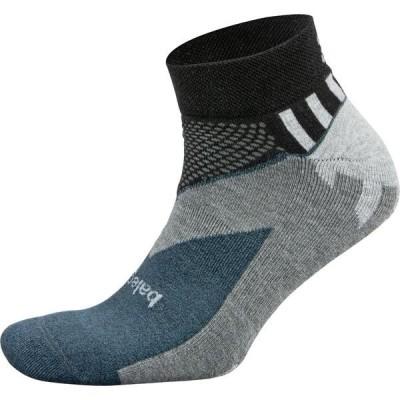 バレガ 靴下 アンダーウェア メンズ Balega Enduro V-Tech Low Cut Running Socks Black