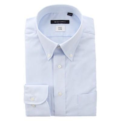 ボタンダウンカラードレスシャツ 織柄 〔EC・BASIC〕