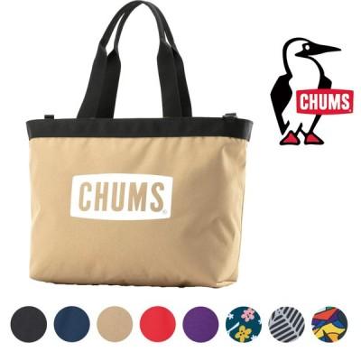 チャムス エコ チャムス ロゴ トートバッグ バッグ CHUMS正規品 コーデュラナイロン  メンズ レディース ユニセックス CH60-3073/国内正規品/通勤/通学