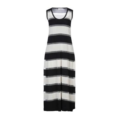 ジャッカ JUCCA 7分丈ワンピース・ドレス アイボリー M ナイロン 100% 7分丈ワンピース・ドレス