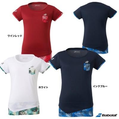 【10%ポイント対象商品:12月20日まで】バボラ BabolaT テニスウェア レディス ショートスリーブシャツ BTWQJA04