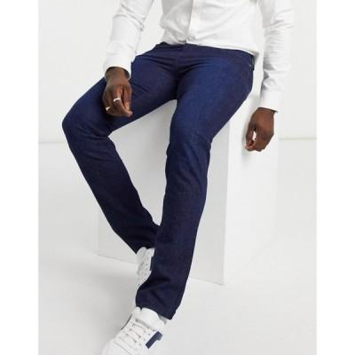 ヒューゴ ボス BOSS メンズ ジーンズ・デニム スキニー・スリム ボトムス・パンツ Business Delaware3 slim fit jeans ネイビー