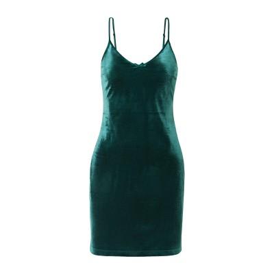 SOLID & STRIPED ミニワンピース&ドレス ディープジェード M ポリエステル 100% ミニワンピース&ドレス