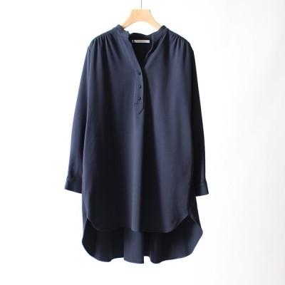 シニヨンスター CHIGNONSTAR パイピングAラインシャツ 1402-383KK