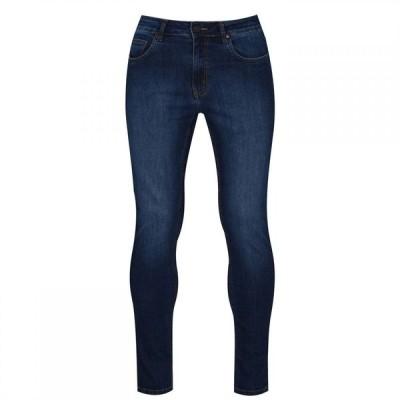 No91 メンズ ジーンズ・デニム スキニー・スリム ボトムス・パンツ Flawless Slim Jeans Mid Wash