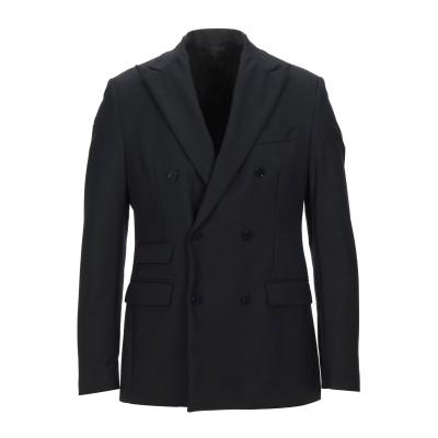 LIU •JO MAN テーラードジャケット ブラック 50 ウール 55% / ポリエステル 41% / ポリウレタン 4% テーラードジャケット