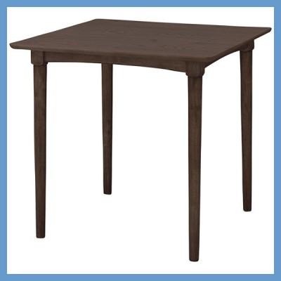 『一般A』ダイニングテーブル(正方形)/NET-829TBR(ブラウン)